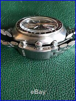 Vintage SEIKO Yachtsman UFO 6138-0017 21 Jewel Automatic Chronograph Wristwatch