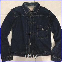 Vintage SUGAR CANE TOYO Union Made selvedge type 1 trucker denim jacket size M