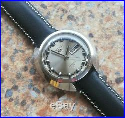 Vintage Seiko 5 23 Jewels Automatic 5126 7030 November 1968 Rally Dial 40mm