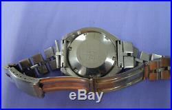 Vintage Seiko 6138-0040 Bullhead Chronograph Day Date Automatic