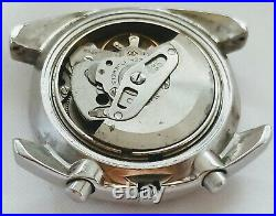 Vintage Seiko 6139 6013 Chronograph Automatic Working Needs Restoration