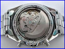 Vintage Seiko 6139 7071 Chronograph Automatic Day Date Working