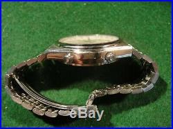 Vintage Seiko 7A38-7280 Quartz Chronograph Men's Watch