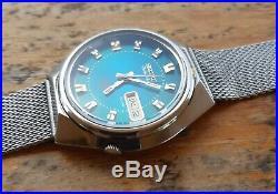 Vintage Seiko Advan 21 Jewels Automatic 7019 7290 Kanji December 1973 38 mm