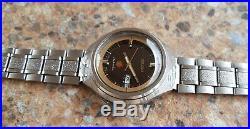 Vintage Seiko Advan 25 Jewels Automatic 6106 7680 Kanji June 1973 38.8 mm