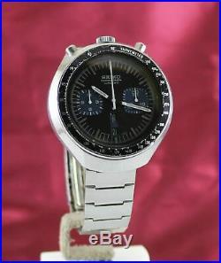 Vintage Seiko Bullhead Chronograph 6138-0040 Watch. Day/Date (Eng/Kanji) Ca 1977