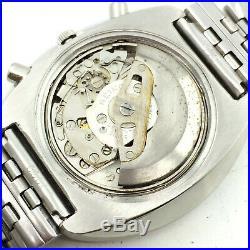 Vintage Seiko Chronograph 6139b Automatic D/d 40mm Mens Japan Wrist Watch A4921
