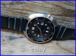 Vintage Seiko Diver Watch 6105-8110, run well. Rare
