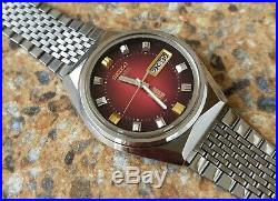 Vintage Seiko Elnix 0703 7010 JDM February 1974 Electronic Mechanical JDM Kanji