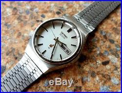 Vintage Seiko Elnix 0703 8020 JDM September 1975 Electronic Mechanical JDM Kanji