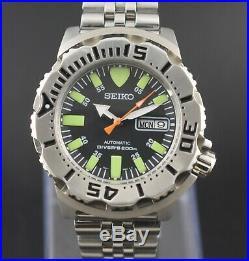 Vintage Seiko Monster Automatic 1st Gen Diver Cal. 7S26 Custom MOD Men's Watch