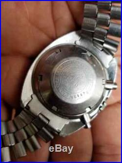 Vintage Seiko Pepsi Pogue 6139-6002 turquoise Watch CW