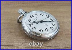 Vintage Seiko Railway Pocket Watch 7550 0010 JDM June 1985 ACRP