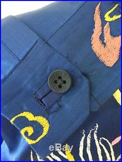 Vintage Sukajan Jacket WWII Japanese Souvenir Okinawa Jacket
