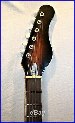 Vintage Teisco, Electric Guitar Made in Japan