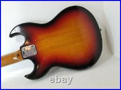 Vintage Teisco Tulip Electric Guitar Sunburst 4010 1960's 70's Norma Tombo Asama