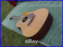 Vintage YAMAHA FG-200 Acoustic Guitar NIPPON GAKKI Japan 1970s Excellent Conditi
