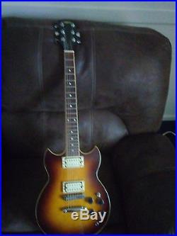 Vintage Yamaha SBG500 Sunburst Electric Guitar Made in Japan