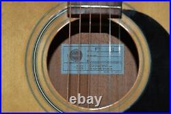 Vintage c. 1972 Epiphone FT 330 acoustic guitar