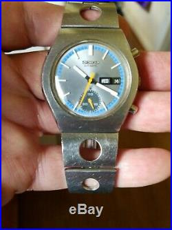 Vintage seiko Chronograph Single Register Cal. 6139 Stainless Steel Automatic