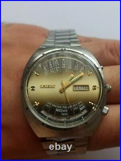 Watch Orient College Perpetual Multi Year Calendar Automatic Vintage SERVICED