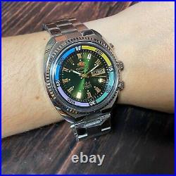 Watch Orient KING DIVER Automatic watch KD Green Dial 21 JEWEL Original Japan SK