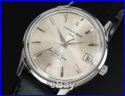 Working Citizen Date Flake 1965 Vintage Hand-Winding Manual Mens watch reloj uhr