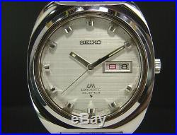 Working Seiko Lord Matic Original Band 1969 Vintage Automatic Mens Watch 5606