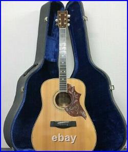 Yamaha L-5 70's Japanese Vintage Acoustic guitar with hard case